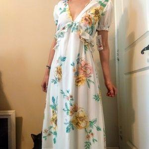 Gorgeous flower dress